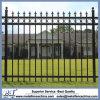 Black Color Steel Picket Fence Panel