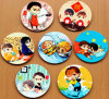 Cheapest Colorful Advertising Promotional Coasters