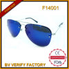 FM14001 Newest High Quality Glare Free Fashion Metal Sunglasses