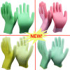 Nmsafety Colorful PU Coated Ladies Work Glove