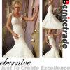 2014new Elegant Mermaid V Neck Train Wedding Dress Wear