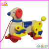 Wooden Play Pull Toy Dog (W05B057)