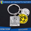 Champion Soccer Metal Keyring Combination