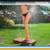 Portable Wood Plastic Outdoor Shower (GT01)