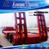 60t Lowbed (Lowboy) Semi Trailer/Crane Truck Trailer