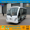 Zhongyi Brand 14 Seats 72V High Quality Powered Electric Sightseeing Car with Ce and SGS Certification