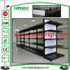 Factory Made Double-Sided Gondola Supermarket Shelves for Sale