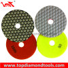 High Gloss Flexible Dry Polishing Pads for Granite