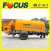 Engineering Construction Machinery 90kw Hydraulic System Trailer Concrete Pump