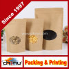 High Quality Food Package Kraft Paper Bag with Clear Window (220085)