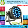 UV Light 15W*18PCS LED PAR Waterproof