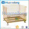Heavy-Duty Rigid Steel Foldable Wire Mesh Container