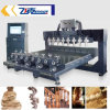 Table Moving 8 Rotating Axis Large CNC Carving Machine