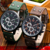 Yxl-135 Logo ODM/OEM Man Stainless Steel Dual Double Buckle Quartz Wrist Watches