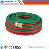 Smooth Flexcible Soft Rubber Twin Welding Hose