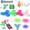 Latest LED Bluetooth Speaker Hand Spinners Finger Spinner