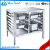 Customizable Professional Dual Rows Floor Base Stand for Kitchen Equipment