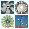 Low Noise Big Air Flow Cooling Impeller for Engines