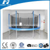 14FT Blue Colour Round Trampoline with Inside Safety Net