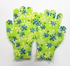Sanjian 13gauge Beautiful Printed Anti-Slip Home Work Gloves Cheap Work Gloves