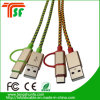 Mfi Manufacturer 3in1 Universal USB Connector Cable for All Phones