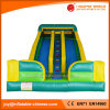 2017 New Inflatable Double Lane Wave Slide with Guardrail (T4-230)