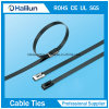 201 PVC Coated Ball Locked Stainless Steel Cable Ties