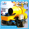 Factory Supply Concrete Mixer with Pump Electric Driven