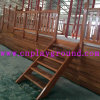 Hot 2018 Playground The Wooden Pirate Ship Outdoor Playground Equipment (HD-5401)