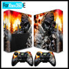 Full Body Decal Stciker Skin Set for xBox 360 E Console + 2 Controller Remotes