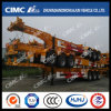 Cimc Huajun 40FT 3axle Gooseneck Container Trailer