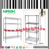 Chromed Wire Mesh Storage Shelving