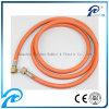"3/8"" Flexible Rubber Gas Hose Assembly with Fiber Braided"