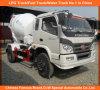 Foton Forland 4X2 4cbm Mini Concrete Cement Mixer Truck