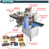 Horizontal Type Frozen Seafood Forming Filling Sealing Machine