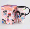 Printed Paperboard Cup and Glass Packaging Box Customized Accept