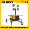 400W*4 Telescopic Mobile Light Tower with Famous Diesel Generator (FZMT-400B)