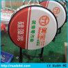Round LED Illuminated Plastic Vacuum Light Box Board