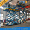 China Ce Hydraulic Stationary Scissor Lift Platform Warehouse Cargo Lift