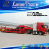 3 Axles Excavator Transportation Low Bed Semi Trailer for Sale