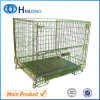 Metal Folding Stacking Storage Cage for Warehouse