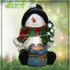 2015 Innovative Snowman Resin Candle Holder (NF14264-1)
