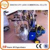 Labor Saving Gasoline Engine Power Cow Milking Machine with Double Bucket