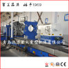 High Rigidity CNC Lathe for Machining Heavy Cylinder with 2 CNC System (CK61160)