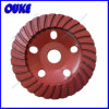 Turbo Segmented Cup Shaped Diamond Grinding Wheel