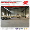Flatbed Semi Trailer for Container or Bulk Cargo Loading