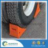 Solid Rubber Heavy Duty Wheel Chock