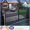 Automatic Opening Wrought Iron Gate/Metal Door/Garden Gate with Remote Control