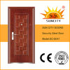 Models Steel Door Design Used Wrought Iron Door Gates (SC-S041)
