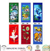 100% Cotton Velour Reactive Printed Beach Towel Df-2897